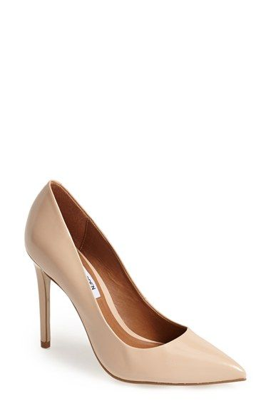 Free shipping and returns on Steve Madden 'Proto' Pointy Toe Pump (Women) at Nordstrom.com. An essential pointy-toe pump makes a sophisticated statement whether paired with your casual, office or evening ensemble.