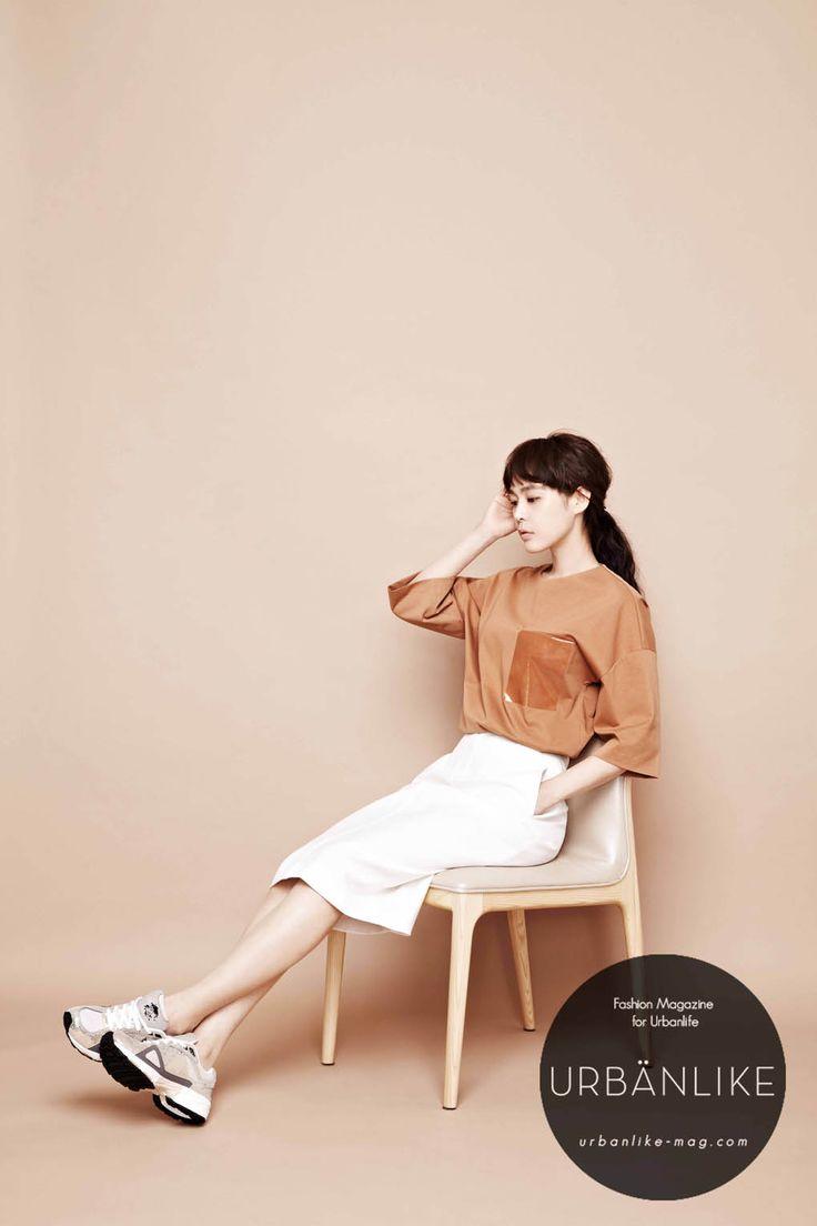 Lee Ha Na - Urban Like Magazine August Issue '14