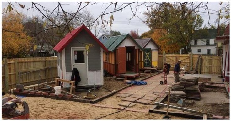 Sustainable yet small housing!  They're Building A Bunch Of 98-Square-Foot Tiny Homes In A Village. The Reason Is Inspiring!