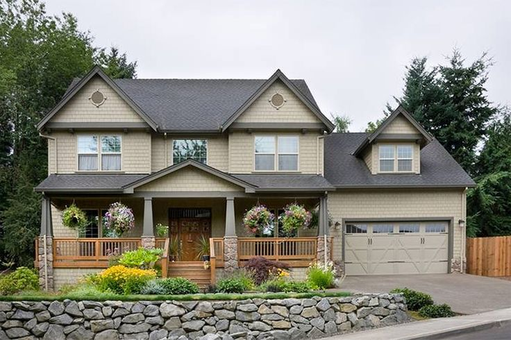 Beautiful 2 story plus basement house plan. 4 bedroom, 2.5 bathroom, 2 car garage