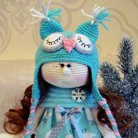 Вязаные игрушки. Handmade Юлия Borisova