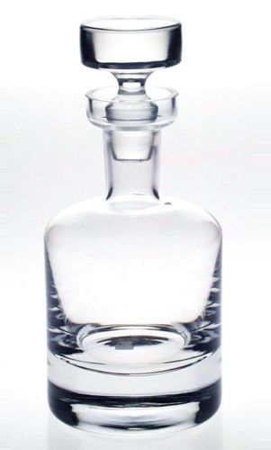 KROSNO-ROUND-75cl-WINE-WHISKY-SHERRY-DECANTER-Fine-Quality-Crystal-Glass-NEW