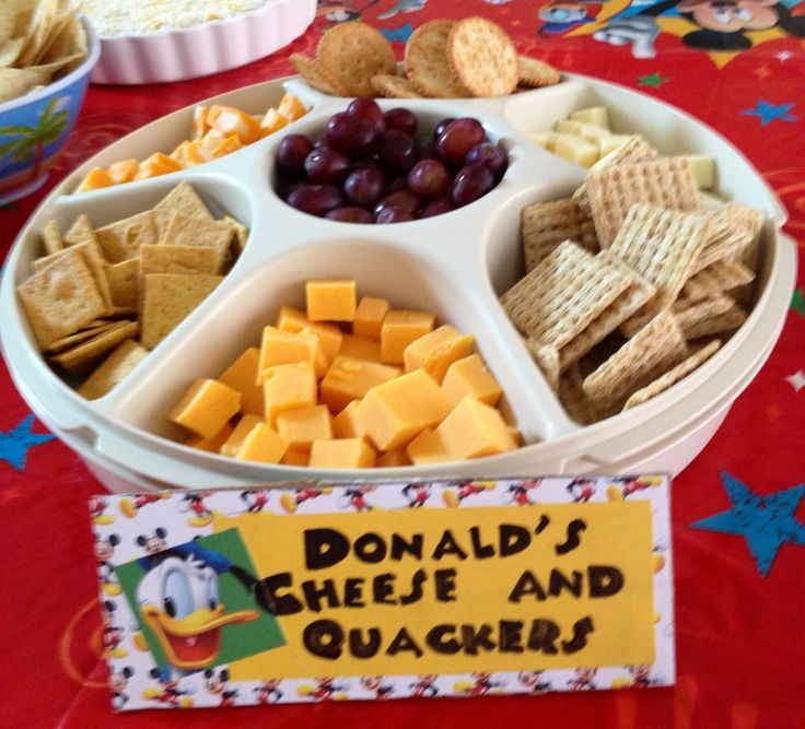 Donald's Cheese and Quackers