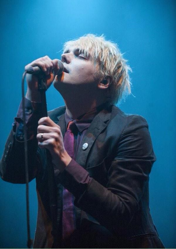 Gerard Way 2015. I love how passionate he is about song writing and performing for other people xxx