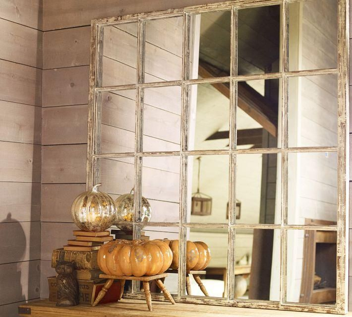Another Daily Blog: $699 Pottery Barn White Paned Mirror DIY Knock off Photo Tutorial for $30 Knock off Decor #DIY Knock Off Pottery Barn