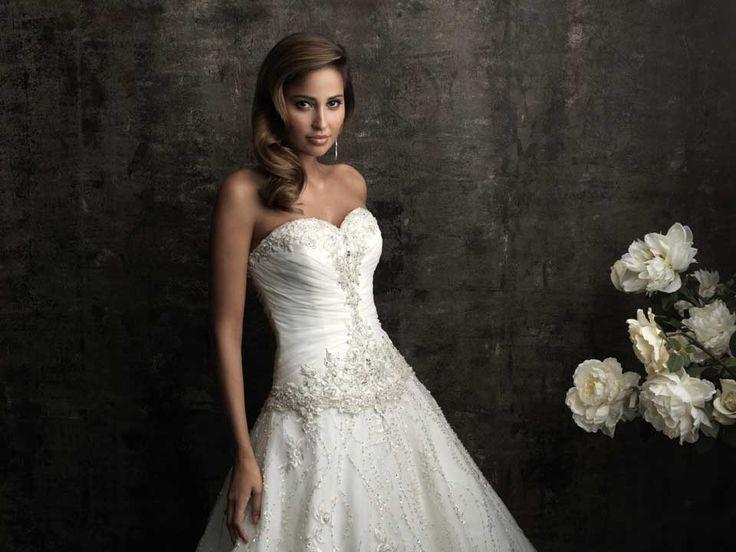 Sweetheart Short Wedding Dress Bling
