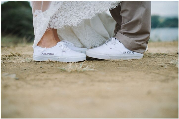Mr. & Mrs. Rogers | Vans at Eagles Cry Wedding Venue | Brightgirl Photography