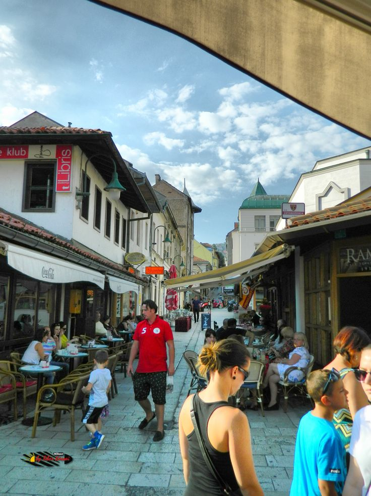Bascarsija, Sarajevo, Bosnia and Herzegovina, Nikon Coolpix L310, 5.6mm, 1/800s, ISO 80, f/3.2, HDR-Art photography, 201607101706