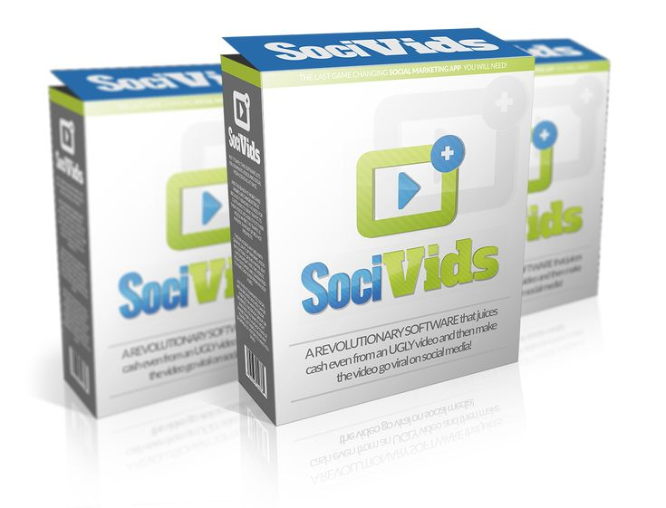 Grow your list and your business with videos!  FB SociVids is a software that enables you to add clickable elements, like Buy Now, Learn More, etc., to any video...