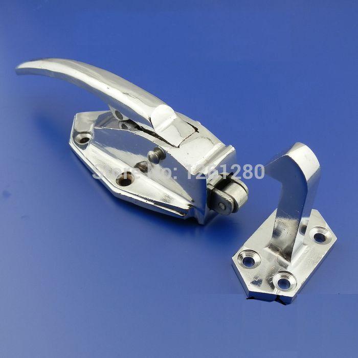 free shipping handle Freezer handle oven door hinge Cold storage Industrial door lock latch hardware  pull part Industrial plant