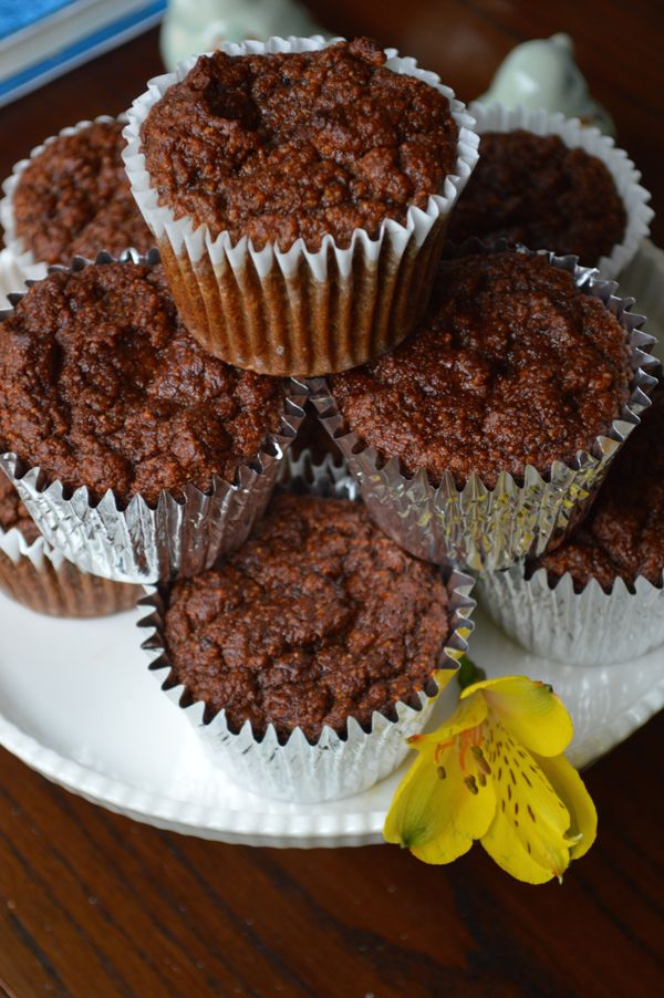 Banana-Date-Carrot Muffins {Gluten free- No Sugar Added) | Healthy Ideas for Kids (Sub almond flour with buckwheat, and egg replacer )