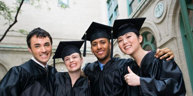 Over 50 per cent of Bachelor graduates were in employment; close to 40 per cent were in further study. Photo / Thinkstock