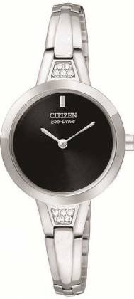 Citizen - Sihouette Crystal Bangle Eco-Drive Watch - EX1150-52E  - RRP: £139.00 - Online Price: £109.00