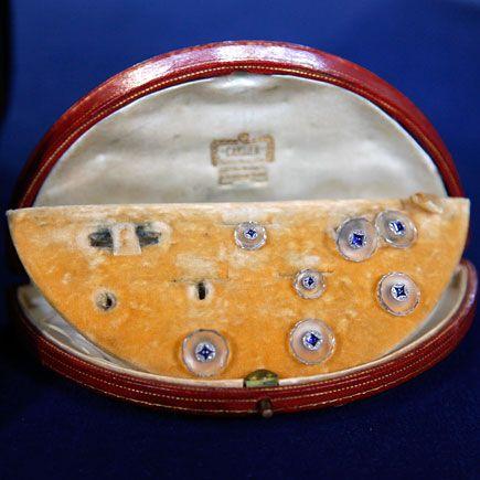 Edwardian Cartier Tuxedo Set, ca. 1915 ????????