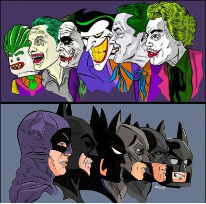 Batmen Vs. Jokers : batman
