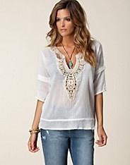 Soft Cotton Blouse - Stella Nova - Vit - Blusar & skjortor - Kläder - NELLY.COM Mode online på nätet $849