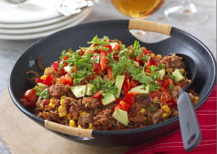 Mexikansk köttfärsröra – allt i ett