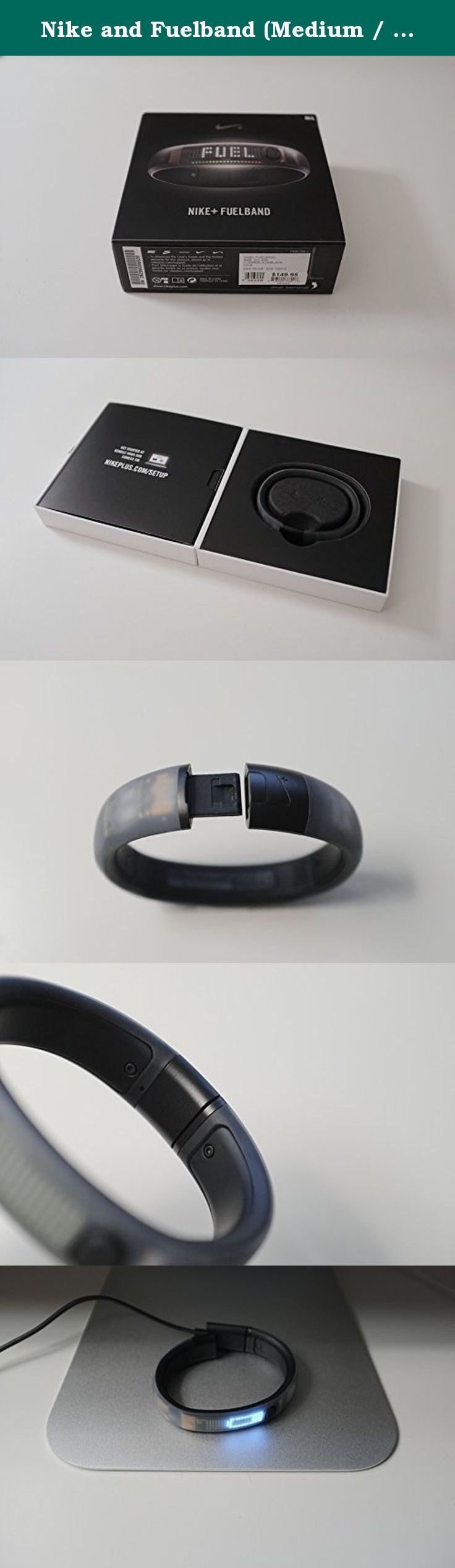 Nike and Fuelband (Medium / Large (172mm)) : Fast Shipping!!!. 1 day shipping by Fedex Through a sports-tested accelerometer, Nike+ FuelBand tracks your daily activity including running, walking, basketball, dancing and dozens of everyday activities. It tracks each step taken and calorie burned. It also tells the time of day. The Nike+ FuelBand is water resistant. It is safe to wear in the shower or when dancing in the rain. Since it's not waterproof, it's not recommended for use while...