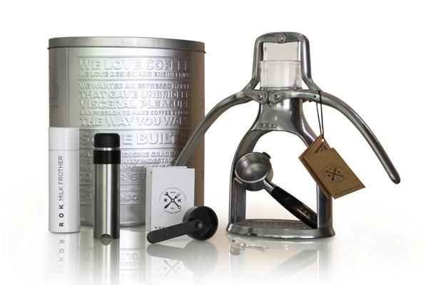 ROK | Shop, products, accessories and photo gallery for the ROK espresso maker