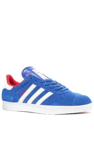 adidas Men\u0027s The LA Dodgers Gazelle Sneaker 7.5 Blue adidas,http://www