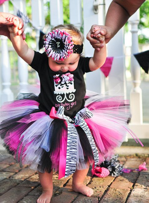 Zebra Tutu Set for baby, infant, toddler girls----- why i want a daughter