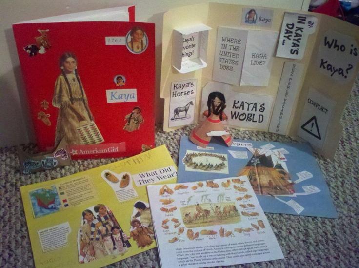OverflowingRaine: American Girl Unit Study #1 - Kaya