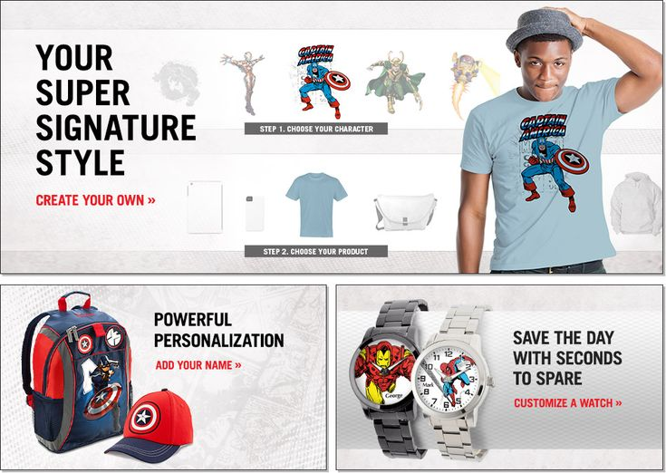 Personalized #Marvel Gear from MarvelShop.com