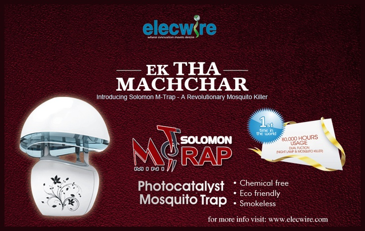 Elecwire 6 minutes ago   Its not a Mosquito repellent machine, its the trapper and Killer machine. These machines are the long-term solution that is proved to reduce mosquitoes and other pests effectively. www.elecwire.com