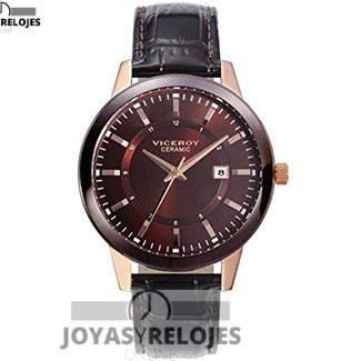 Fantástico ⬆️😍✅ Viceroy 47845-47 😍⬆️✅ , ejemplar perteneciente a la Colección de RELOJES VICEROY ➡️ PRECIO 116 € Lo puedes comprar en 😍 https://www.joyasyrelojesonline.es/producto/reloj-viceroy-caballero-47845-47-acero-ip-rosa-y-ceramica/ 😍 ¡¡Corre que vuelan!! #Relojes #RelojesViceroy #Viceroy