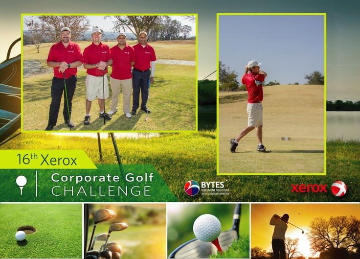 16th Xerox Corporate Golf Challenge #xerox #golf #fun