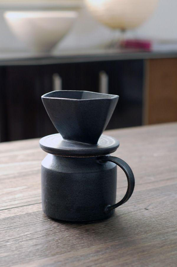 That form. My god. ceramic coffee maker