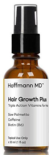 Introducing Hoffmann MD  Natural Hair Regrowth Treatment for New Hair Growth  50 Active Hair Loss Vitamins and Nutrients for Thicker Hair  1 Month Supply. Great Product and follow us to get more updates!