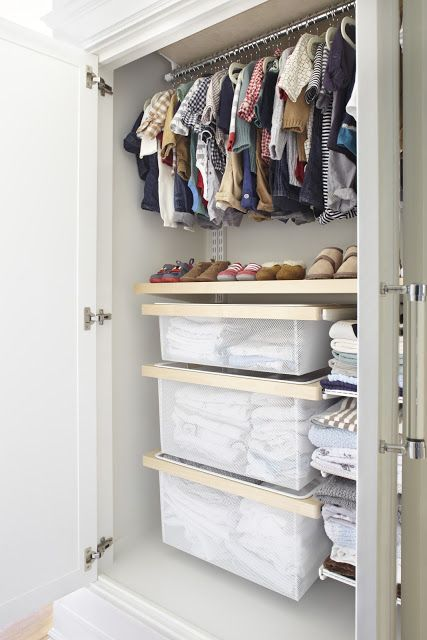 Amazing Baby Closet In A Wardrobe