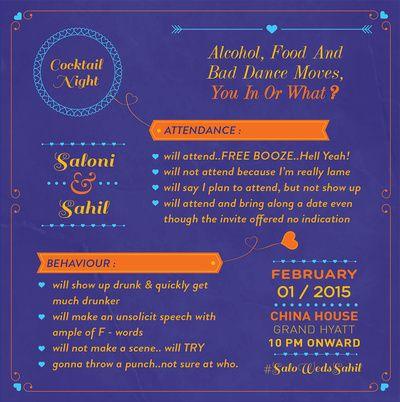 purple invites, wedding invitation wordings, quirky wedding invitation wordings, wedding card examples, wording examples