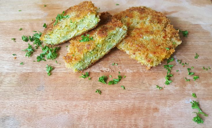 Broccoli Cheddar 'Koekjes'