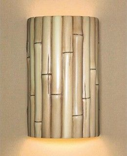 Bamboo lamp http://www.houzz.com/photos/4642317/Bamboo-Natural-ADA-Wall-Sconce-tropical-wall-sconces
