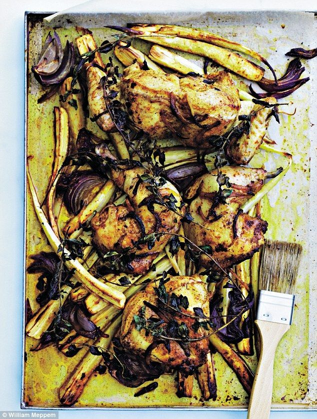 Donna Hay: Moroccan-spiced chicken | Daily Mail Online