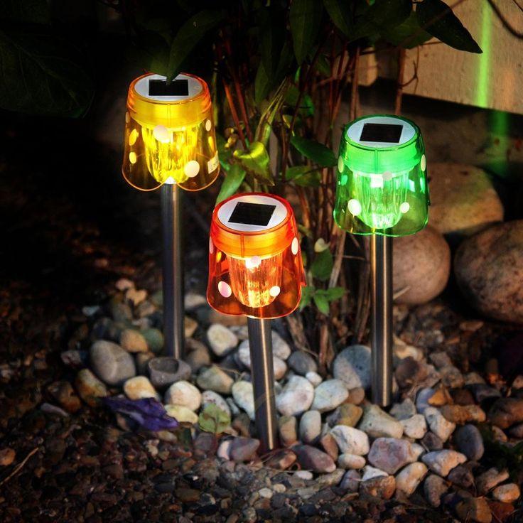 In 3 Farben - LED-Solarleuchte Garden Stick 1522461