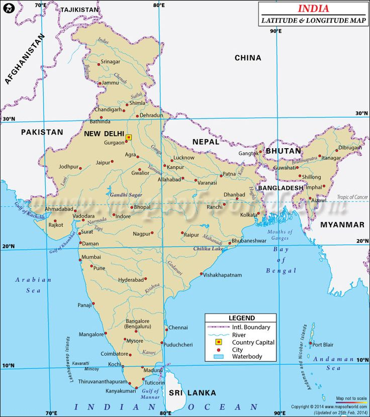 85 best latitude longitude maps images on pinterest latitude know where the latitude and longitude of india are a vast south asian country with gumiabroncs Choice Image