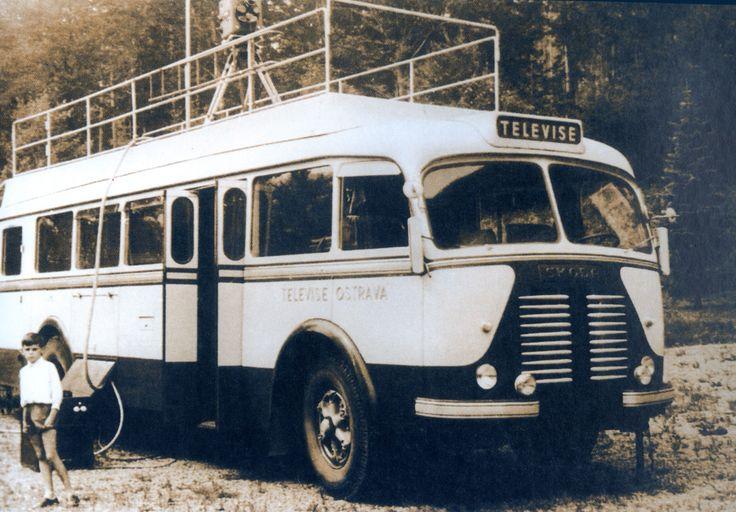 Přenosový vůz 60. léta