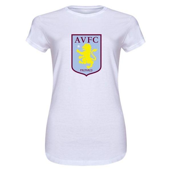 Aston Villa Junior Womens T-Shirt