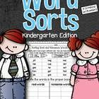 Word sorts help children organize and classify words so that relationships among words can be seen.   These 37 word sorts contain all the spelling ...