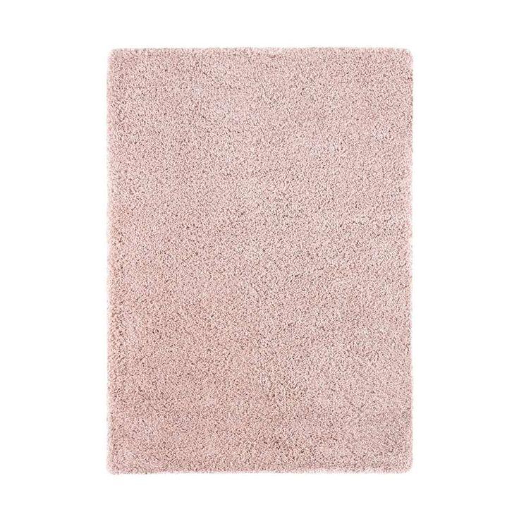 Vloerkleed Norell - shaggy roze - 200x290   Leen Bakker