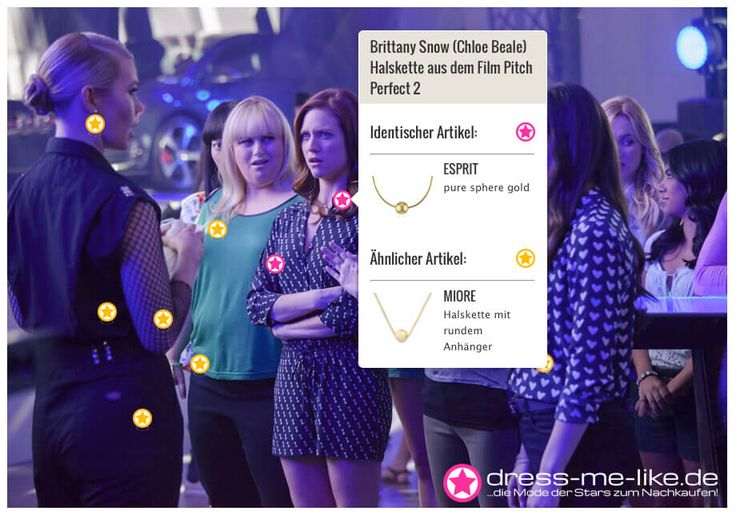 Brittany Snow (Chloe Beale) Halskette (ESPRIT) aus dem Film Pitch Perfect 2