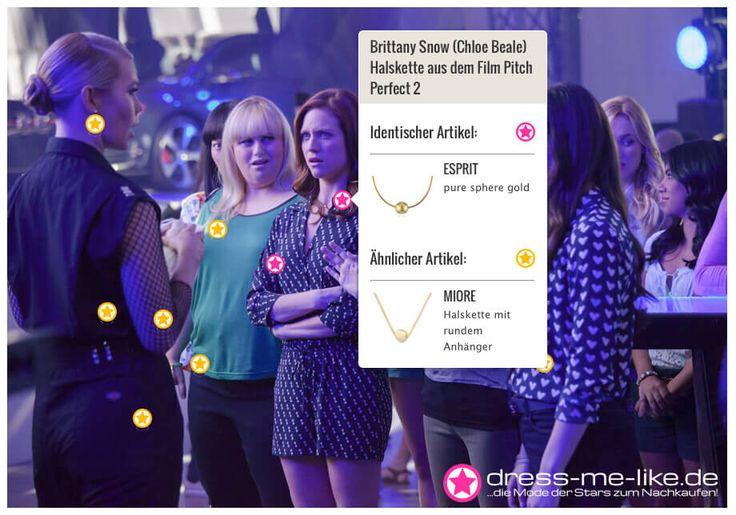 Brittany Snow (Chloe Beale) Halskette (ESPRIT) aus dem Film Pitch Perfect 2
