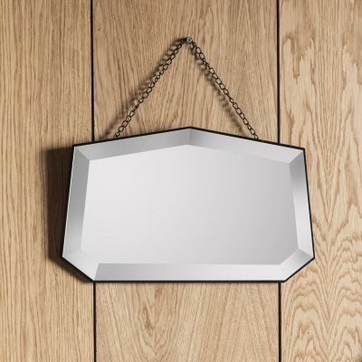 X Hanging Glass Photo Frame