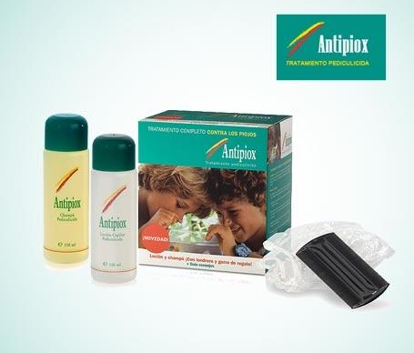 Por una vuelta al cole sin piojos…Kit tratamiento completo Antipiox por sólo $10€
