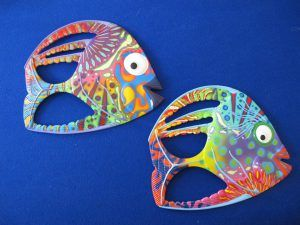 Angel fish - medium - 26H x31L