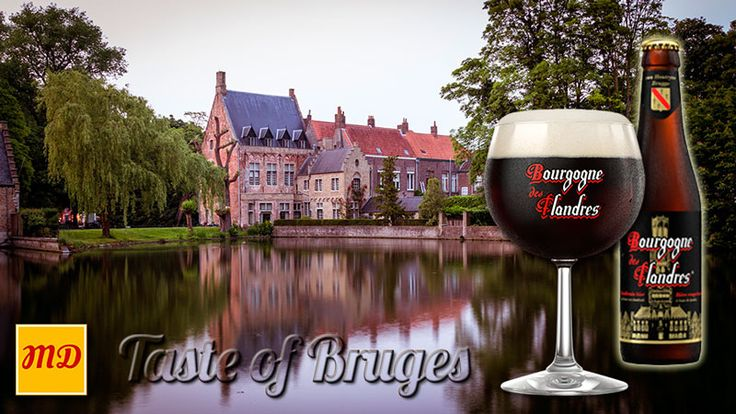 Beer Bourgogne des Flandres, matured in oak barrels for many months. It is this process that gives the red-brown beer a rich, creamy finish. The real taste of Bruges - Belgium