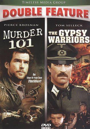 Murder 101/The Gypsy Warriors (DVD, 2010) Tom Selleck WORLD SHIP AVAIL